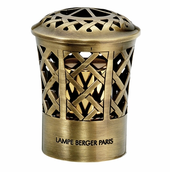 NEW! - Criss-Cross Heavy Bronze Top - Lampe Berger by Maison Berger