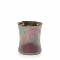 NEW! - Dark Poppy Floral Night Ceramic Mini Hourglass WoodWick Candle