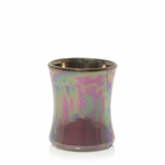 CLOSEOUT-Dark Poppy Floral Night Ceramic Mini Hourglass WoodWick Candle | Discontinued & Seasonal WoodWick Items!