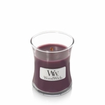 NEW! - Dark Poppy WoodWick Candle 3.4 oz. | WoodWick Mini Candles