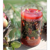 Decor Collection Jar Candles by Village Candles