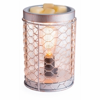Edison Bulb Chicken Wire Illumination Fragrance Warmer