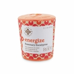 Energize (Rosemary Eucalyptus) Seeking Balance 20 Hour Votive by Root | Seeking Balance 20 Hour Votive Candles by Root