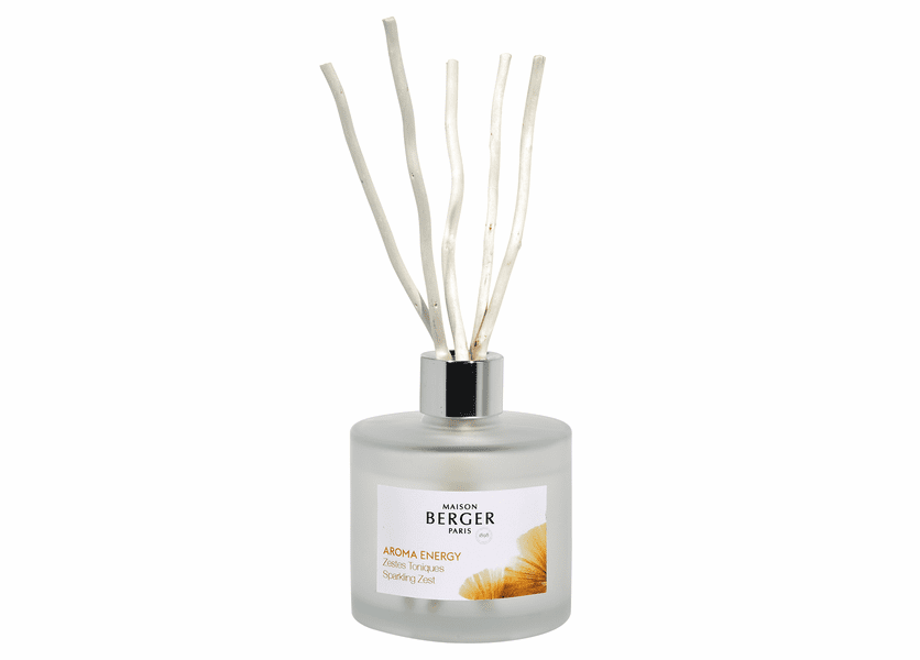 NEW! - Energy 180 ml (6.08 oz.) Reed Diffuser - Maison Berger by Lampe Berger