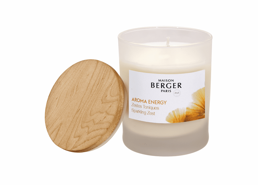 NEW! - Energy Candle 180g - Maison Berger by Lampe Berger
