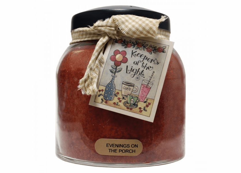 NEW! - Evenings on the Porch 34 oz. Papa Jar Keepers of the Light Candle by A Cheerful Giver