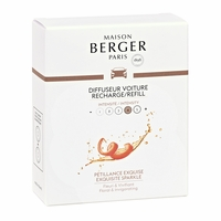 NEW! - Exquisite Sparkle Car Diffuser Ceramic Refill - Maison Berger by Lampe Berger