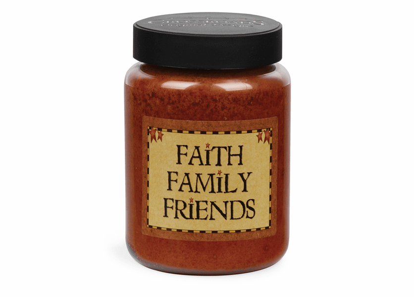 NEW! - Faith Family Friends Artwork Buttered Maple Syrup 26 oz. Crossroads Candle
