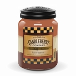 NEW! - Fall Festival 26 oz. Large Jar Candleberry Candle | Large Jar Candles by Candleberry