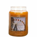 CLOSEOUT - Fall Festival 26 oz. Premium Round by Village Candles | Closeouts by Village Candles