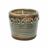 NEW! - Farmer's Market Vintage Round Pot Swan Creek Candle