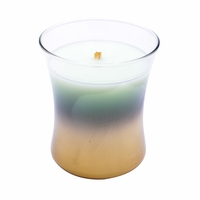 NEW! - Fig Leaf & Tuberose Floral Night Decorated Medium Hourglass WoodWick Candle