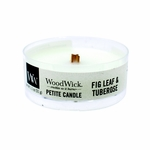 Fig Leaf & Tuberose Petite WoodWick Candle | WoodWick Petite Candles