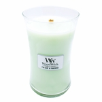 NEW! - Fig Leaf & Tuberose WoodWick Candle 22 oz. | New WoodWick Spring & Summer 2019 Releases