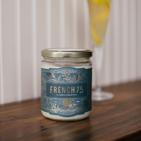 NEW! - French 75 Cocktail 12 oz. Rewined Candle