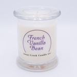 CLOSEOUT-French Vanilla Bean Clean & Contemporary 9 oz. Jar Swan Creek Candle | Swan Creek Candles Closeouts
