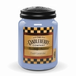 NEW! - Fresh Lavender 26 oz Large Jar Candleberry Candle | New Releases by Candleberry