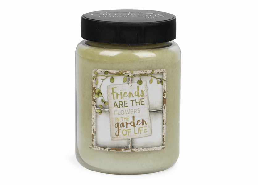 NEW! - Friends Artwork Basil & Lime 26 oz. Crossroads Candle