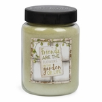 NEW! - Friends Artwork Basil & Lime 26 oz. Crossroads Candle | Crossroads 26 oz. Artwork Label Candles