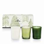 NEW! - Frost & Fir 3 Pack Votive Gift Set by Illume Candle | Holiday Collection by Illume Candles