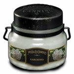 CLOSEOUT - NEW! - Gardenia 8 oz. McCall's Double Wick Classic Jar Candle | McCall's Candles Closeouts
