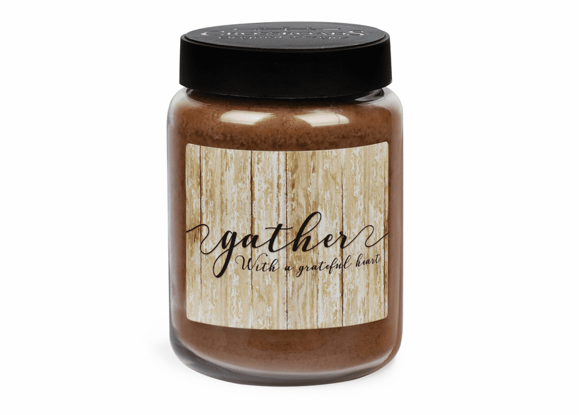 NEW! - Gather Artwork Crackling Birch 26 oz. Crossroads Candle