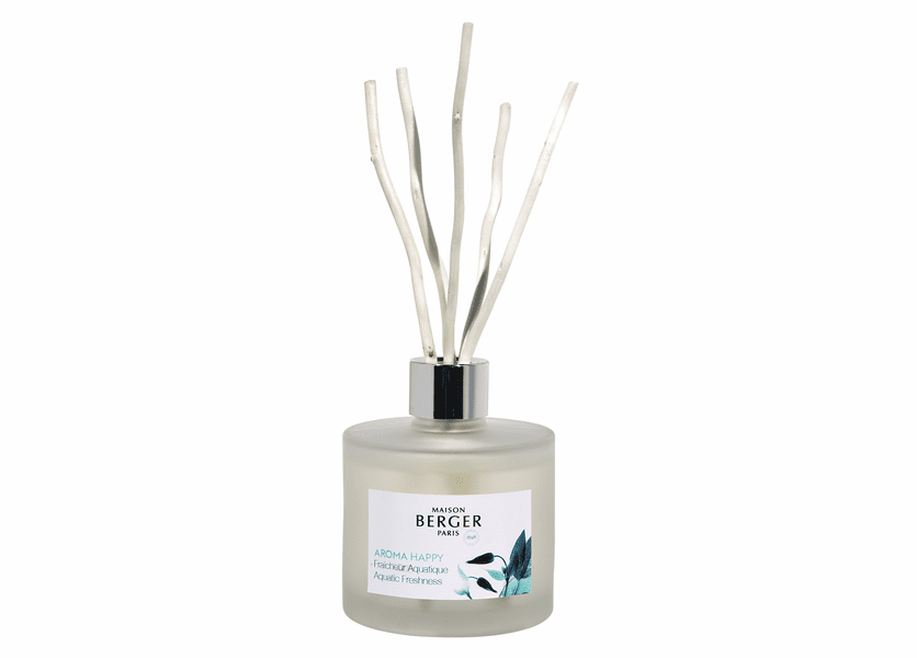 NEW! - Happy 180 ml (6.08 oz.) Reed Diffuser - Maison Berger by Lampe Berger