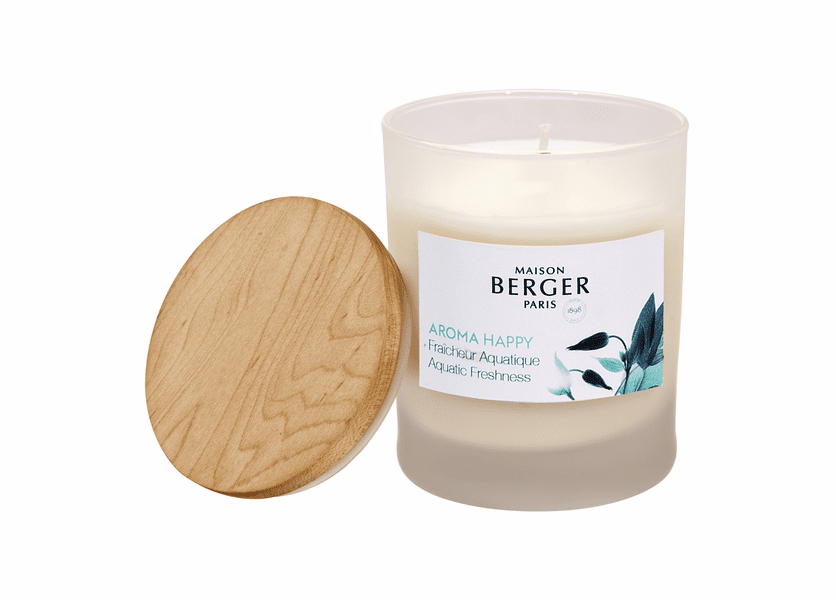 NEW! - Happy Candle 180g - Maison Berger by Lampe Berger
