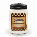 NEW! - Havana Smoke 26 oz. Large Jar Candle  by Candleberry | New Releases by Candleberry