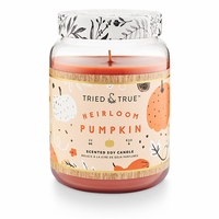 CLOSEOUT - Heirloom Pumpkin 22.2 oz. XL Jar Candle by Tried & True