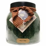CLOSEOUT - Holly Tree 34 oz. Papa Jar Keepers of the Light Candle by A Cheerful Giver | Closeouts by A Cheerful Giver