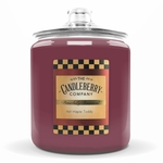 Hot Maple Toddy 160 oz. Cookie Jar Candleberry Candle | NEW! - Cookie Jar Candles by Candleberry