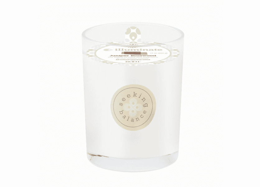 NEW! - Illuminate (Juniper Rosewood) 15 oz. Large Spa Candle by Root Candles