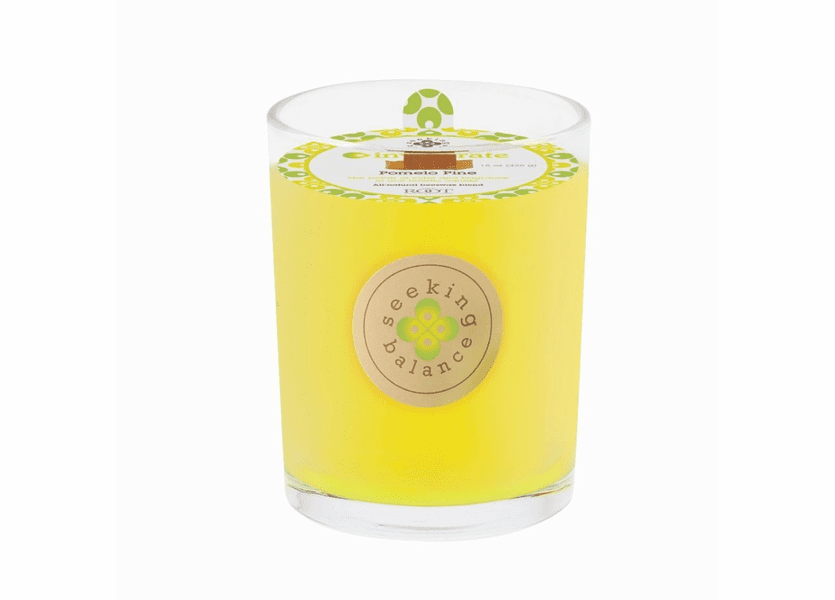 CLOSEOUT - Invigorate (Pomelo Pine) 15 oz. Large Spa Candle by Root Candles