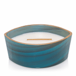 NEW! - Island Coconut Coastal Decor Ellipse WoodWick Candle   Woodwick Spring & Summer 2020 Specialty Candles