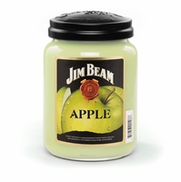 Jim Beam Apple 26 oz. Large Jar Candleberry Candle