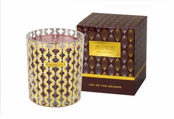 NEW! - Joy of the Season Tuck Box Holiday Gift Candle by Archipelago