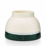 NEW! - Juniper Moss Artisan Ceramic Illume Candle | Holiday Collection by Illume Candles