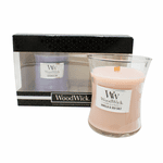 NEW! - Lavender Spa, Vanilla & Sea Salt 10 oz. Candle Gift Set by WoodWick   WoodWick Gift Sets