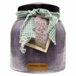 Lavender Vanilla 34 oz. Papa Jar Keepers of the Light Candle by A Cheerful Giver | Keeper's of the Light 34 oz. Papa Jar Candles by A Cheerful Giver
