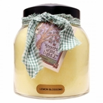 NEW! - Lemon Blossoms 34 oz. Papa Jar Keepers of the Light Candle by A Cheerful Giver | New Releases by A Cheerful Giver