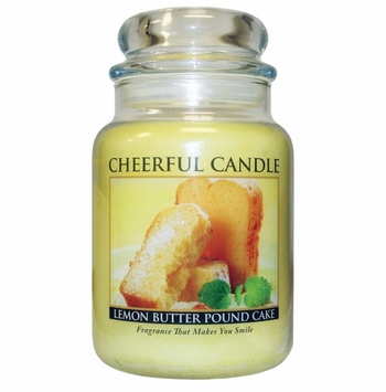 Lemon Butter Pound Cake 24 oz. Cheerful Candle by A Cheerful Giver
