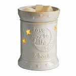Love You to the Moon Illumination Fragrance Warmer | Candle Warmer Closeouts
