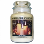 CLOSEOUT - Memories 24 oz. Cheerful Candle by A Cheerful Giver | Closeouts by A Cheerful Giver