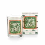 NEW! - Merry Christmas Boxed Glass Votive by Illume Candle | Holiday Collection by Illume Candles
