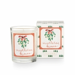 NEW! - Mistletoe Kisses Boxed Glass Votive by Illume Candle | Holiday Collection by Illume Candles