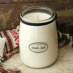 NEW! - Nordic Noel 22 oz. Butter Jar Candle by Milkhouse Candle Creamery | 22 oz. Butter Jar Candles by Milkhouse Candle Creamery