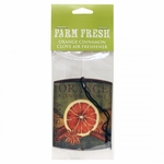 NEW! - Orange Cinnamon Clove Car Air Freshener by A Cheerful Giver | New Releases by A Cheerful Giver