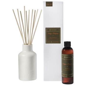 NEW! - Orange & Evergreen 4 oz. Reed Diffuser Set by Aromatique
