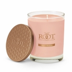 NEW! - Peach Blossom Hive Glass Candle by Root | New Releases By Root